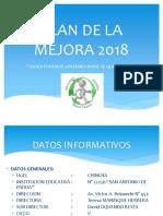 Plan de La Mejora 2018