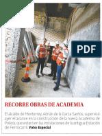 24-10-18 RECORRE OBRAS DE ACADEMIA