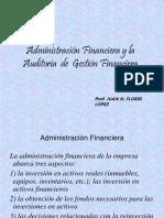 Adm. Finac. y Aud. de Gestión Financ.