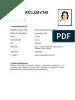 Curriculum Vitae q.f.susan Maguiña