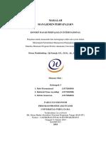 Manajemen Perpajakan - Konsep Dasar Perpajakan Internasional