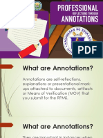 5. RPMS Annotations