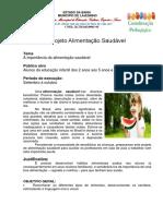Projeto Alimentação Saudável para Educação Infantil na Escola.docx