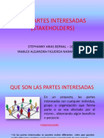 Las Partes Interesadas (Stakeholders)
