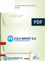 DOE - Cold Import SA
