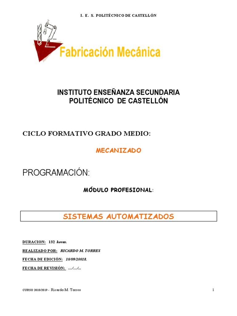 Programación Instituto Enseñanza Secundaria Politécnico De