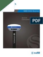 STONEX S800 Brochure