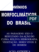 Dominios Morfoclimaticos Do Brasil