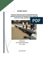 INFORME TECNICO AFORO DE AGUA CANAL BIAGGIO ARBULU.pdf