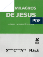 Los milagros de Jesús, Salvador Carrillo ALday
