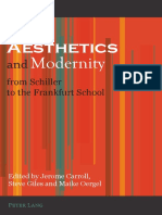 CARROLL, JEROME Aesthetics and Modernity From Schiller to the Frankfurt School