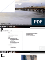Plan Director Cerro azul