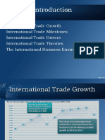 Trends in World Trade