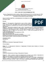 Decreto Estadual No 12342-1978