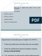 Anova, Chi Cuadrado y Regresion Simple