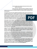 COMUNICADO - Sobre Detención Del Diputado Juan Requesens