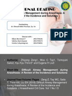 Journal Reading Difficult Airway Management.pptx