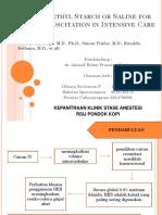 Journal Reading Hydroxyethyl Statch