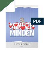 Nicola Yoon - Minden minden.pdf