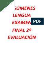 RESÚMENES LENGUA EXAMEN.doc