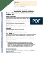 Flook 2014 Promoting Prosocial Behavior Skills in Children KC