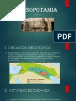 Mesopotamia Diapositiva