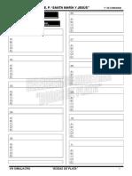 Formato VIII Simulacro - 1° Secundaria - CIVICA