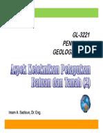 GETEK - 06 Tanah
