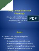 Sleep Intro and Physiology 81113