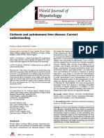 Cirrhosis and Autoimmune Hepatitis