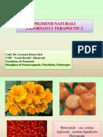 1.Pigmentii Naturali Importanta Terapeutica Conf.univ .Dr .Farm .Cerasela Gîrd