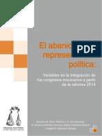 El abanico de la representación política