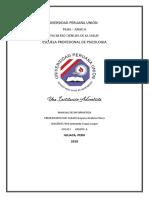 Universidad Peruana Union Informatica