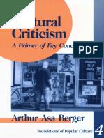 [Feminist Perspective on Communication] Arthur Asa Berger - Cultural Criticism_ a Primer of Key Concepts (1994, SAGE Publications, Inc)