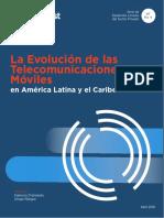 La Evolucion de Las Telecomunicaciones Moviles 2018