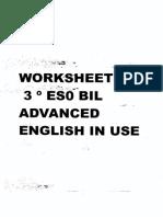 Workbook Burlintong 3 Eso