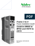 Unidrive M Frame 3 and 4 Power Installation Guide Issue 5 (0478-0254-05)_Approved