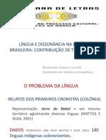 Minicurso_língua e Dissonância