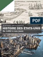 Van Ruymbeke Bertrand Histoire Des Etats Unis de 1492 a Nos Jours