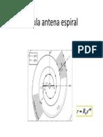 Formula Antena Espiral