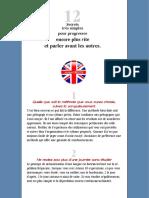 secrets pour apprendre plus vite l'anglais