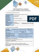 Guía de Actividades y Rubrica de Evaluación - Paso 2 - Elaborar Mapa de Actores