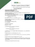 1a+Lista+de+Exercícios_Fund+de+Álgebra_2018.2
