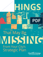 8 Things That May Be Missing From Your City Strategic Plan