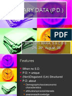 Business Research- Primary Data
