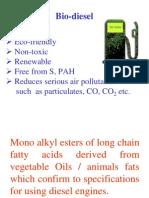 Why Bio Diesel