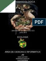 Ecolog i a Cole Gio 2013