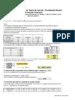 Diseno de Mezclas de Concreto Calculo de Dosificacion MDCE Junio 2016