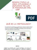 GUIA TECNICA PARA LA METROLOGIA Y ESTANDARIZACION + CONDIC ORGANOLEPTICAS