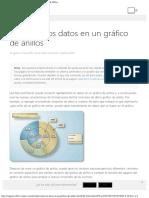 Presentar Los Datos en Un Gráfico de Anillos